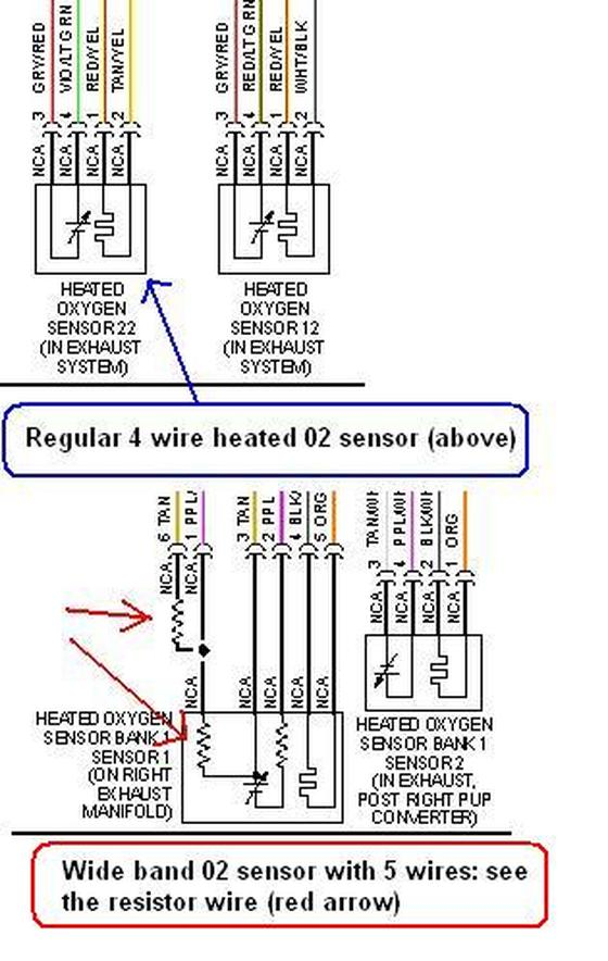 bosch 5 wire wideband o2 sensor wiring diagram prescion